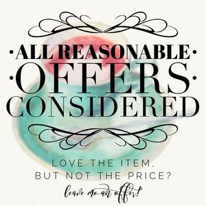 Other - PLEASE READ! 📜 Reasonable Offers Considered! 🤔🛍